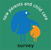 New parents and child care survey logo
